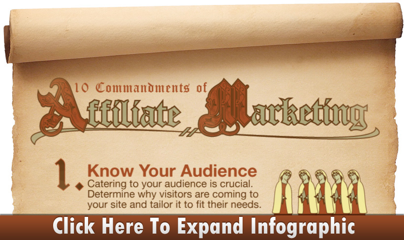 10 Commandments of Affiliate Marketing